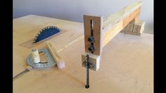 4 in 1 Workshop Accessories (blade guide, miter gauge, crosscut sled) - ...