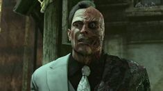 two face arkham city - Google Search