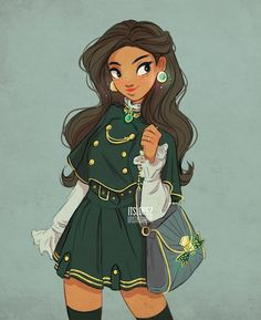 Character Design~ By Itslopez Girl Drawing Sketches, Cute Girl Drawing, Cartoon Girl Drawing, Girl Cartoon, Cute Drawings, Character Design Cartoon, Cartoon Art Styles, Character Drawing, Character Design Inspiration