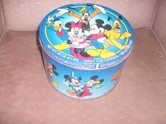 Mickey and friends cookie tin