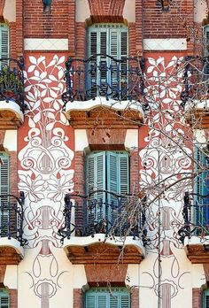Casa Joan Baptista Rubinat 1909 Architect: Francesc Berenguer, Barcelona, Spain i MestresPhoto by Arnim Schulz