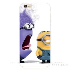5/5S SE 4'' Hot Sold Funy Cartoon Cover Despicable Me Yellow Minion Case For Apple iPhone 5S iPhone SE iPhone5 Phone Cases Shell