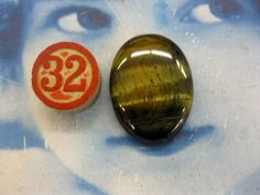 Semi Precious Stone Tigers Eye Polished by dimestoreemporium, $8.00