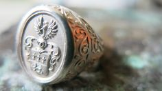 Crest Ring – Wappenring / Siegelring
