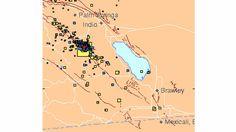 Hundreds of aftershocks from magnitude 5.2 Borrego Springs earthquake
