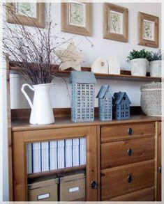 Ikea Leksvik, Ikea Drawers, Weekend House, Idee Diy, Sideboard, Sweet Home, Dining Room, Baby Zimmer, House Design