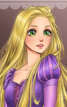 Disney Drawing Rapunzel ~ Maryam - Hi. Im Maryam. I always loved anime and Disney and wanted to draw fan arts of all my favorite characters since childhood.