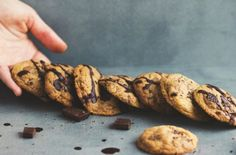 The Ultimate Gluten Free Choc Chip Cookies #madeleineshaw #gettheglow #glowguides