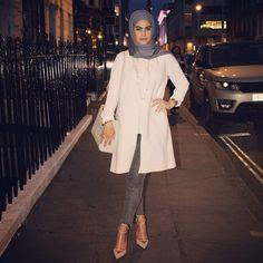 Yesterday's attire  #ootd #chic #london #hijabfashion