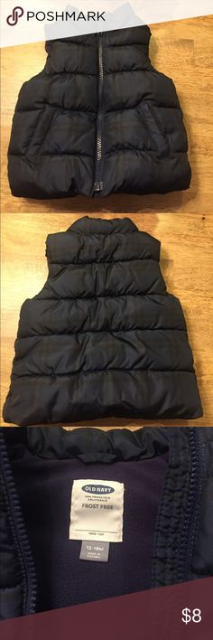 Old Navy Vest Old Navy Frost Free Vest. Excellent condition! Old Navy Jackets & Coats Vests