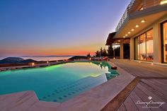 This magnificent residence located on the outskirts of Southern Attica is of exceptional architectural taste and offers stunning views of the Saronic Bay. The interior is minimal in design and furnished with top of the line designer furniture. On four levels with an interior elevator this home is built so that there are sea views from every room. Also approachable with a yacht or private helicopter.  #LuxuryConcierge #ExclusiveServices #LuxuryServices #Luxury #Elegance #Concierge…