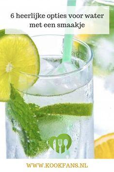 Welke van de zes opties voor water met een smaakje is jouw favoriet? Cocktails, Drinks, Alcohol, Juices, Desserts, Food, Cocktail Parties, Beverages, Liquor