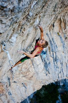 Sasha Digiulian, World Champion Rock Climber at 19 years old. The new definition of strength: scaling a mountain with your bare hands.