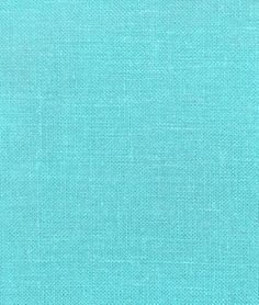 Great website for fabric! Wanna make curtains for my whole house now Aqua Irish Linen Fabric - $17.85 | onlinefabricstore.net