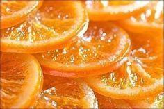 КАРАМЕЛИЗИРОВАННЫЕ АПЕЛЬСИНЫИнгредиенты: апельсины - 1 кг; сахар - 500г; лимон (сок) - 1/2 шт.