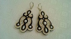 Badi / soutache náušnice Drop Earrings, Jewelry, Fashion, Moda, Jewlery, Jewerly, Fashion Styles, Schmuck, Drop Earring