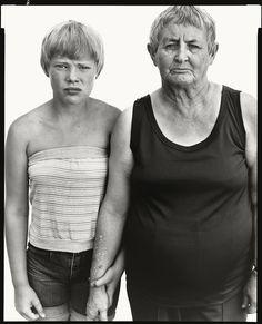 Vivian Richardson and her granddaughter, Heidi Zacher, Deadwood, South Dakota, August 6, 1982 © The Richard Avedon Foundation Available at http://www.gagosian.com/artists/richard-avedon/selected-works