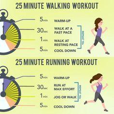 walk/ wun workout
