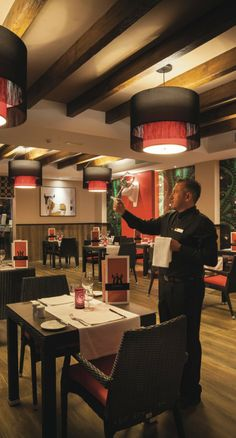 """Olé"" Spanish restaurant at Riu Monica Hotel in Nerja, Spain 