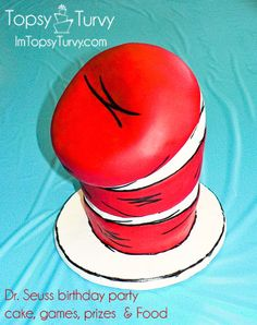 dr seuss birthday party, ideas for food, games, favors, cake and prizes
