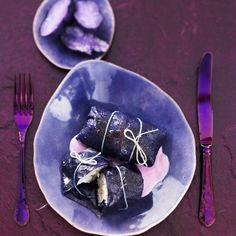 Knackige Rotkohlroulade mit Fisch   BRIGITTE.de