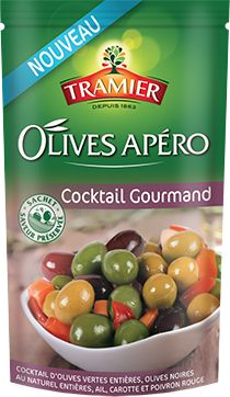 Les olives apéro Cocktail Gourmand de Tramier