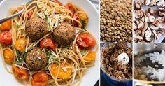 Albóndigas vegetarianas de lentejas y hongos | Notas | La Bioguía