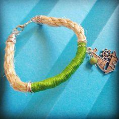 Rope bracelet handmade summer