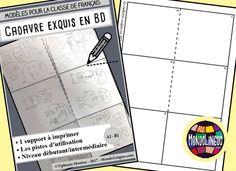 Ecrire et dessiner en classe de FLE : Cadavre exquis en BD - Mondolinguo - Français