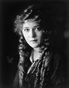 """Mary Pickford - (April 8, 1892 - May 29, 1979; Canadian American motion picture actress, co-founder of the film studio United Artists and one of the original 36 founders of the Academy of Motion Picture Arts and Sciences. Known as """"America's Sweetheart,"""" """"Little Mary"""" and """"The girl with the curls,"""""""