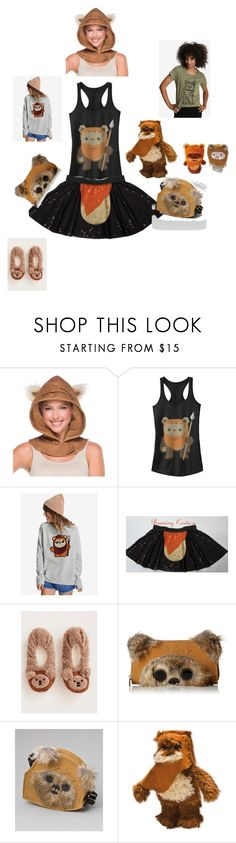 """Ewoks"" by gailgoo on Polyvore featuring Torrid and Loungefly"