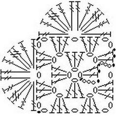 Babiččcino háčkované srdíčko - návod