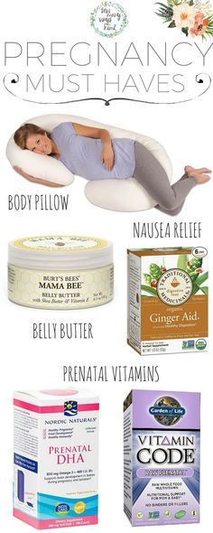 Top Pregnancy Must Haves