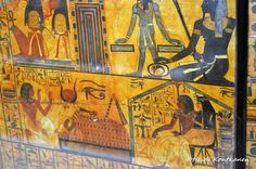 From Tomb TT1 (konde) Tags: tt1 deirelmedina sennedjem khonsu ancient 19thdynasty newkingdom coffin sarcophagus deities art treasure ancientegypt cairomuseum