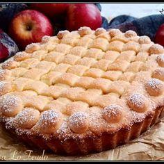 Italian Cake, Italian Desserts, Apple Recipes, Cake Recipes, Dessert Recipes, Apple Deserts, Italian Pastries, Biscotti, Sin Gluten