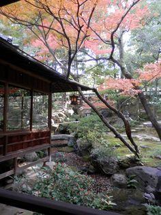 Japanese Garden, Furukawa Art Museum, Nagoya, Japan 爲三郎記念館