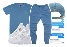 """""""ovo type"""" by pinksemia ❤ liked on Polyvore featuring October's Very Own and NIKE"""