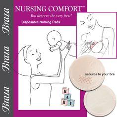 Nursing Comfort™ Pads for breast milk leakage.