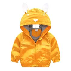 Felds The New Boy Autumn And Winter Loaded Printing Rabbit Style Jackets Outerwear Yellow 3T. Please choose 1-2 bigger size than your US SIZE because it is Asian size. it will keep warm comfortable and looking great. This coat is perfect for the cool chilly days in the winter or Autumn. Hand-wash and Machine washable. Whether for your little boy or nephew,this coat will make a great birthday gift.