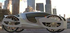 future, Moon Walker, concept, vehicle, Aerodynamic, car, transportation, futuristic, green car, eco, auto, automobile