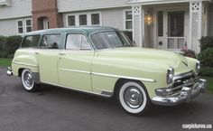 1955 chrysler station wagon | 1954 Chrysler New Yorker Town & Country Station Wagon
