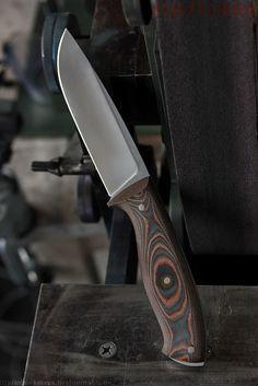 Dr Winter Knives: Hurricane. Duratech 20CV steel, ~62HRc