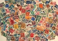Hobby Stamp Collecting Products - Over 150 old Stamps from around the world *** Want to know more, click on the image.