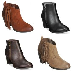 Which ankle bootie is your favorite?  Check them out on our WINTER SALE and show off your style!