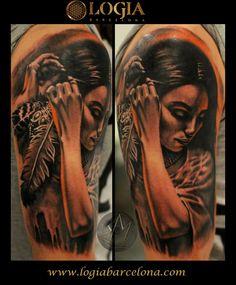 Φ Artist MARCI BLAZSEK Φ Info & Citas: (+34) 93 2506168 - Email: Info@logiabarcelo... www.logiabarcelon... #logiabarcelona #logiatattoo #tatuajes #tattoo #tattooink #tattoolife #tattoospain #tattooworld #tattoobarcelona #tattooistartmag #tattoosenbarcelona #ink #arttattoo #artisttattoo #inked #inktattoo #tattoocolor #hombro #tattooartwork #realism