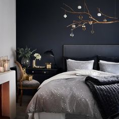 Bettwäsche von H&M Home - interior design ideas Home Bedroom, Bedroom Wall, Bedroom Decor, Master Bedroom, Ikea Bedroom, Master Suite, Bedroom Ideas, H&m Home, Dream Decor