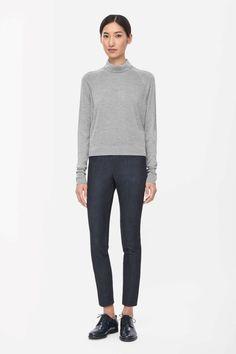 COS | Roll-neck silk jumper
