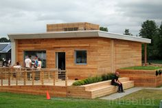 Empowerhouse. HVAC system uses the same amount of energy as a hair dryer.