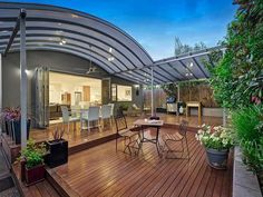 Curved Patio Roof In Rowville