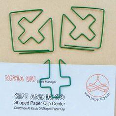 Hospital marking shaped paper Clip